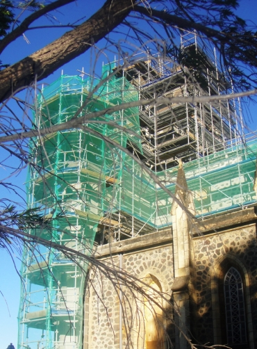 renovation eglise de petite ile delivrance - facade 2