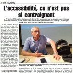 """La formation """"accessibilité"""" dans Le Quotidien"""