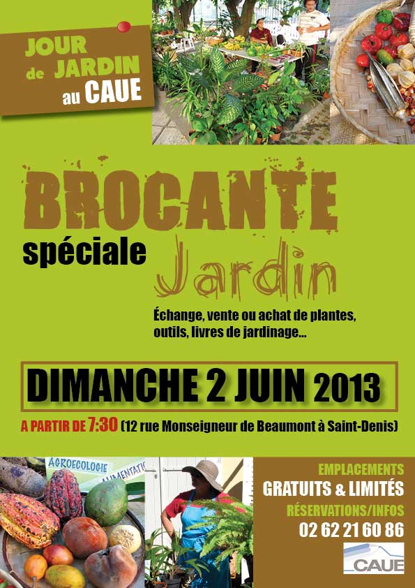 Jour de jardin brocante au caue for Brocante dans 60