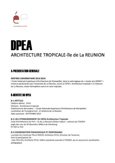 13-04-15  contenu enseignement DPEA[1][4]