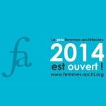Le prix des femmes architectes 2014