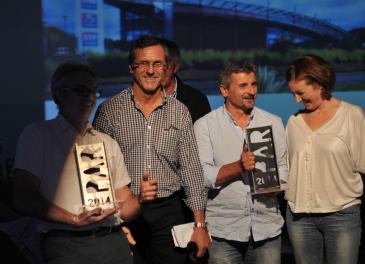 Côté Sud et Quadra architecture sont repartis chacun avec le trophée récompensant les établissements professionnels.