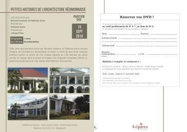 DVD PH architecture réunionnaise
