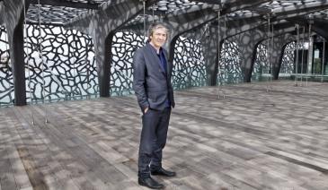 Rudy Ricciotti, architecte du Mucem, qui ouvre en juin à Marseille. ©C. Delfino