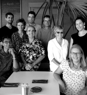 AH architecture: Christophe Cosson, Franck Lafille, Denise Guillot, Yvon Laurelut, Olivier Collette (à l'arrière plan), Didier Le Lec, Catherine Duriez, Monika Sigalin, Stephanie Morantin