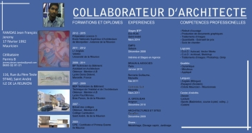 cherche poste de collaborateur d architecte