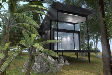 Bungalow Maya , Denise Guillot architecte