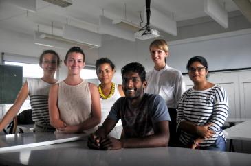 Etudiants de l'école d'architecture de La Réunion