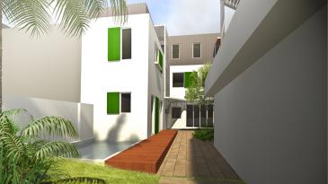 Rénovation d'une maison individuelle à Saint Denis (Mo Privé, Moe  KZ-A) - Chantier en cours  - image noté « RIV »