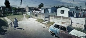 Township au Cap (Afrique du Sud)