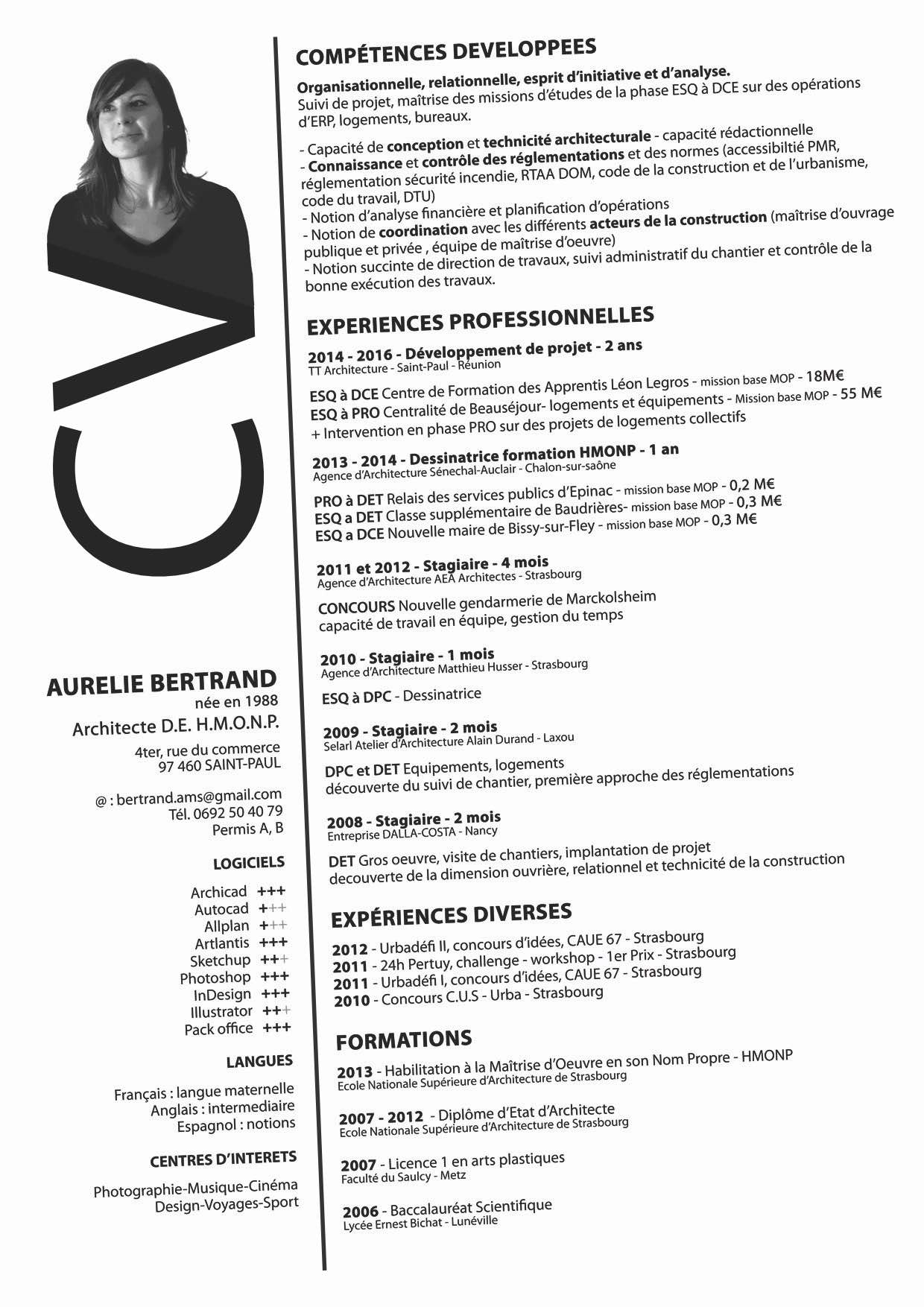 Recherche d un emploi cdd ou cdi dans le domaine de l for Emploi architecte d interieur