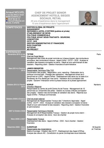 recherche poste de chef de projet dans l u2019agencement d