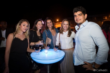 Emilie Jeamblu (OMY Marketing), une amie, Virginie Hubert, Aurélie QUENTIN, Guillaume GRONDIN