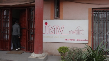 L'Institut des Métiers de la Ville de Tananarive.