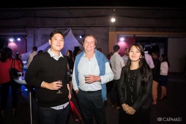 Nicolas CHANE-LIAT, Vincent ETAVE et une étudiante de l'ENSAM