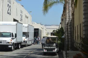 Los Angeles, les studios hollywoodiens, de veritables villes dans la ville