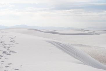 Nouveau Mexique. White Sands National Monument