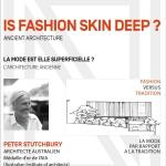 """""""L'Architecture ancienne : La mode est-elle superficielle ?"""""""