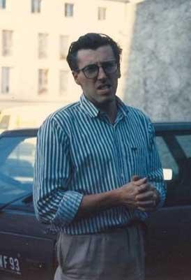 Rodolphe Cousin, début des années 90 à Paris. Vêtements d'époque
