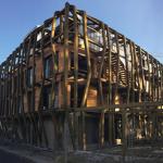 Visite du chantier de la Médiathek deSaint Leu