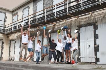 Elles sont cinq familles à imaginer ce premier habitat participatif à La Réunion.