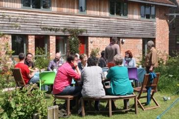 Livraison d'un projet d'habitat participatif en Picardie.