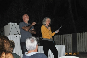 Eric Hugel et Catherine Jacquot