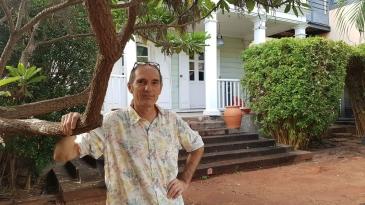 Etienne Bertoldt, le nouvel architecte des bâtiments de France à La Réunion.