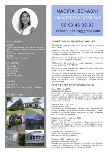 Architecte d int rieur cherche poste en agence for Emploi architecte interieur